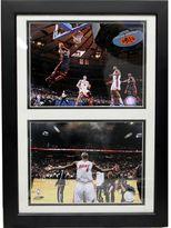 Miami Heat LeBron James Double Custom Frame