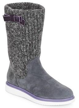 Geox J THYMAR GIRL girls's High Boots in Grey