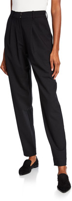 Co Pleated High-Rise Trousers