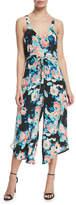 Tolani Melissa Floral-Print Crop Jumpsuit
