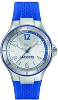 Lacoste Women's Acapo 2000879 Silver Silicone Quartz Watch