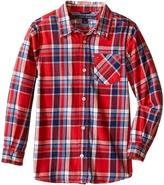Tommy Hilfiger Jazz Flannel Shirt (Toddler/Little Kids)