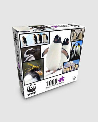 WWF - White Puzzles - 1000 Piece Puzzle - Penguins - Size One Size at The Iconic