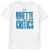 Under Armour Big Boys 8-20 Quiet The Critics Short-Sleeve Tee