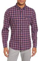 Nordstrom Men's Trim Fit Duofold Check Sport Shirt