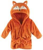 Hudson Baby BabyVision Orange Fox Animal Bathrobe