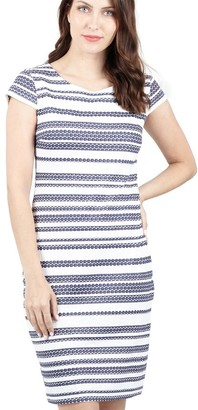 M&Co Izabel striped bodycon dress