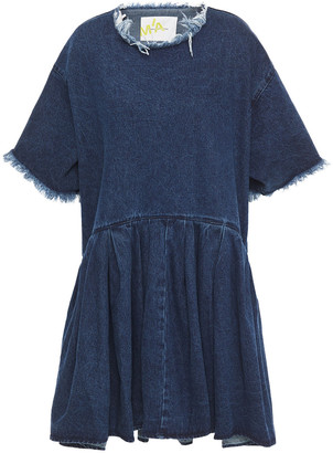 Marques Almeida Frayed Denim Dress