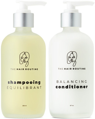 The Hair Routine Balancing Shampoo and Conditioner, 8.7 oz