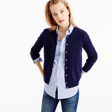 J.Crew Cambridge cable cardigan sweater