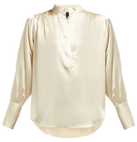 0ae2f0cac Satin Silk Blouse Long Sleeve - ShopStyle Canada