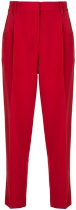 No.21 High-Waist Cropped Trousers