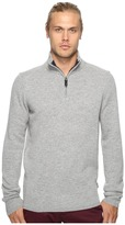 Ben Sherman Long Sleeve Lambswool Half Zip Knit
