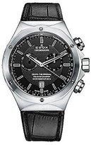Edox Men's 10107 3C NIN Delfin Analog Display Swiss Quartz Black Watch