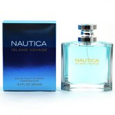 Nautica Island Voyage Cologne by for Men. Eau De Toilette Spray 3.4 Oz / 100 Ml.