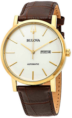 Bulova Classic Automatic White Dial Men's Watch 97C107