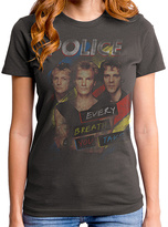 Goodie Two Sleeves Gray the Police Every Breath Relic Tee - Women