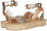 Soludos Cadiz Wave Sandal (Platinum) Women's Shoes