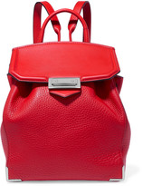 Alexander Wang Textured-leather backpack