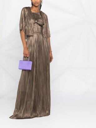 Maria Lucia Hohan Candance cape-style maxi dress