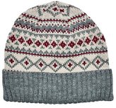 San Diego Hat Company Women's Fair Isle Knit Beanie with Cuff KNH3463
