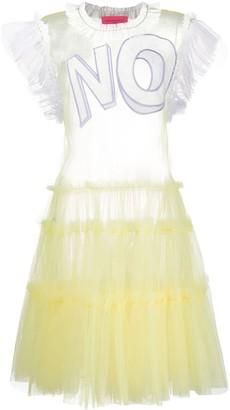 Viktor & Rolf ruffle-trimmed tulle dress