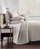Hotel Collection Speckle Cotton Quilted Twin Coverlet, Created for Macy's Bedding