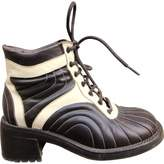 Free Lance Leather lace up boots