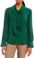 Alex Marie Sarah Neck Tie Blouse