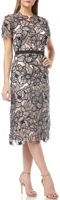 JS Collections Souctach Lace Midi Dress