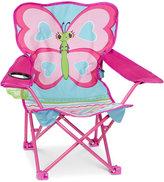 Melissa & Doug Girls' Cutie Pie Butterfly Camp Chair