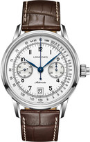 Longines L1.645.4.52.4 Conquest Heritage rose gold watch