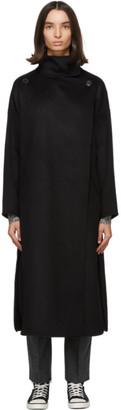 Isabel Marant Black Wool Relton Coat