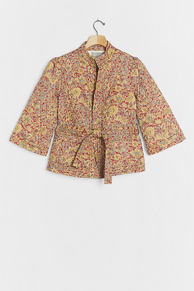 Daniel Rainn Cleta Quilted Kimono Jacket By in Assorted Size S