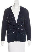 Band Of Outsiders Wool-Blend Embellished Cardigan