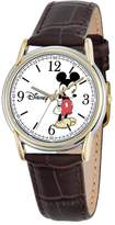 Disney Disney's Mickey Mouse Men's Two Tone Leather Watch