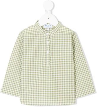 Siola Gingham Print Shirt