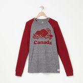 Roots Mens Cooper Canada Long Sleeve T-shirt