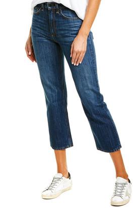 Askk Ny Brooklyn Crop Straight Leg Jean