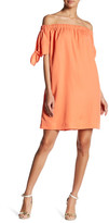 Do & Be Do + Be Knot Sleeve Off-The-Shoulder Dress