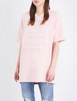 Chocoolate Choco girls-print piqué tunic