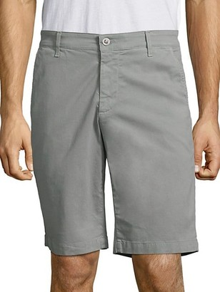 AG Jeans Griffin Stretch Sateen Shorts
