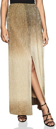 Reiss Emmeline Lurex Maxi Skirt