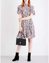 Valentino Vady floral-print silk dress