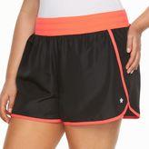 Tek Gear Plus Size Knit Waistband Running Shorts