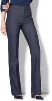 New York & Co. 7th Avenue Pant - High-Waist Mini Bootcut - Modern - Leaner Fit - Navy