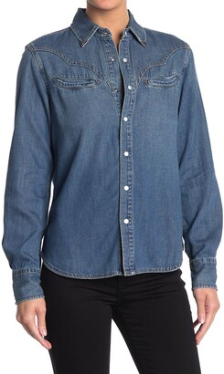 Joe's Jeans Western Snap Button Shirt