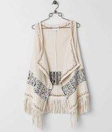 Miss Me Fringe Sweater Vest