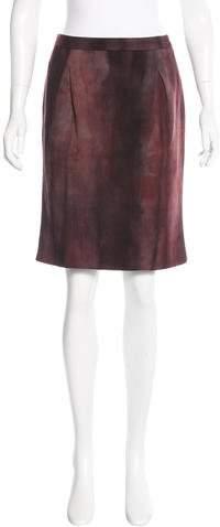 CNC Costume National Knee-Length Wool Skirt