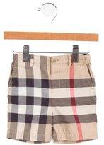 Burberry Boys' Nova Check Shorts